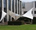 Design overkapping met strakke vormen als terrasoverkapping - Texstyleroofs
