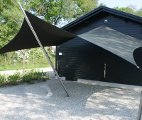 Design Carport Texstyleroofs Sunsail Systems Mierlo - Texstyleroofs