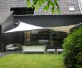 Design overkapping van zeil doek als zonnezeil systeem - Texstyleroofs