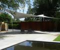 Design overkapping van zeil doek als terrasoverkapping - Texstyleroofs