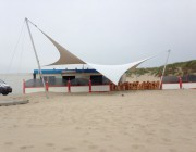 Design overkapping voor strandpaviljoen - Texstyleroofs
