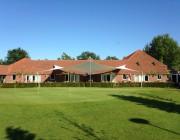 Terrasoverkapping design bij golfclub - Texstyleroofs