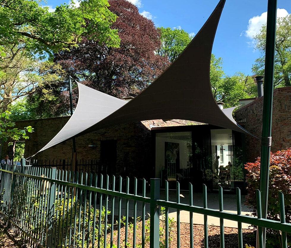 Unieke design terrasoverkapping, carport, loungeplek of horeca overkapping op maat ontworpen