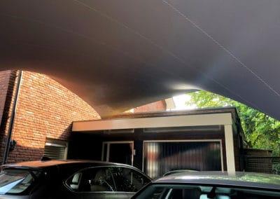 Texstyleroofs Uw design carport van zeildoek