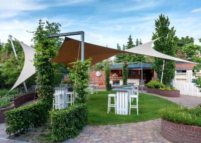 Ideaal voor het creëren van een lounge terras in uw tuin