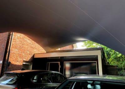 Zeil Carport overkapping - bescherm uw auto's