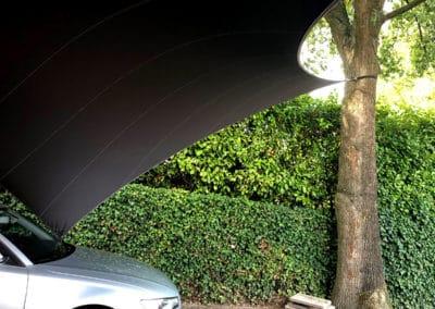 Zeil Carport overkapping - op maat ontworpen