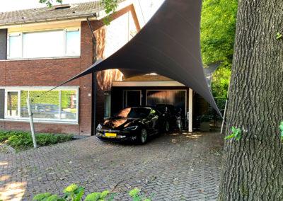 Zeil Carport overkapping - stormvast en waterdicht