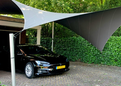 Zeil Carport overkapping - Stijlvolle bescherming voor uw auto