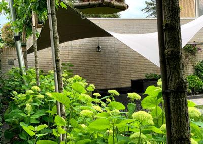 Zeil overkapping loungeterras Heel (NL)