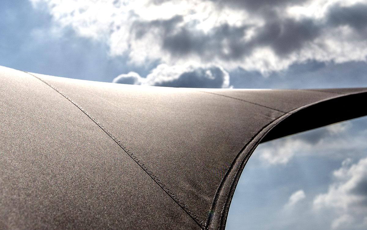 De luxe design overkapping van zeildoek voor uw terras