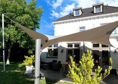 Een waterdicht zonnedoek voor uw terras of carport?
