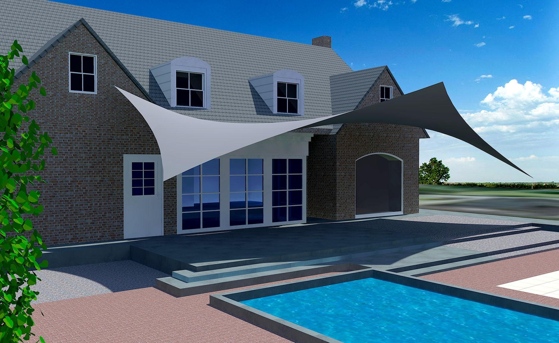 De vele mogelijkheden als een vrijstaande carport of vast aan huis komen wij bij u thuis presenteren aan de hand van een 3D-studie.