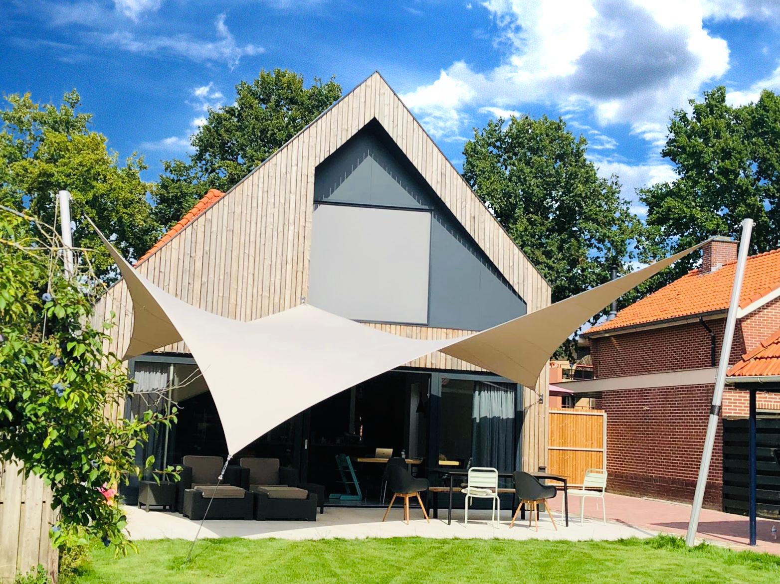 Een Texstyleroof is de perfecte oplossing als u een buitenruimte wilt overkappen, maar geen permanente constructie wenst.