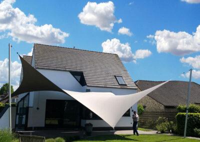 Luxe zomersfeer terrasoverkapping (Belgie)